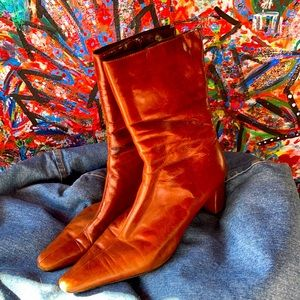 Joystick leather boots